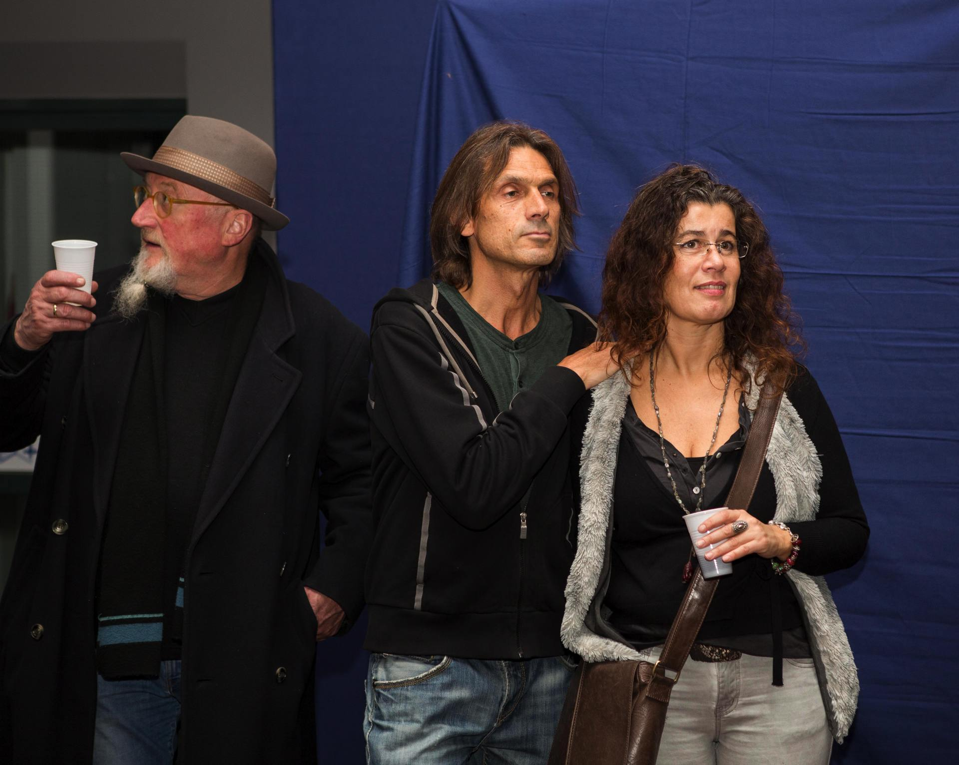 "Vernissage in der ""Fabrik"" 2015 - Gerhard Laber, Hans-Peter Traunig und Michaela Auernigg"